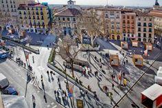 Plaza Tirso de Molina, Madrid España