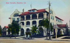 The charming Hotel Guirnalda of Pasadena CA is long gone!