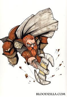 Gimli by Bloodzilla-Billy on deviantART