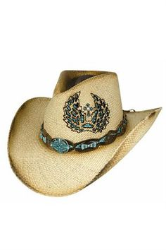 Bullhide Women's Hope Has Wings Straw Cowgirl Hat