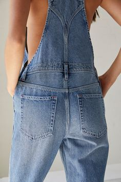 Distressed Jean Skirt, Denim Overalls, Beautiful Outfits, Beautiful Clothes, Overall Shorts, Summer Outfits, Summer Clothes, Stretch Fabric, Boyfriend