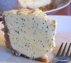 Cheesecake cru au fruit de la passion & lime, sans lactose, sans gluten