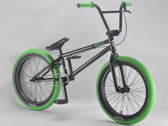 madmain gloss black 20 inch BMX bikes from Harry Main and mafiabikes