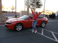 Jami's new 2012 CHEVROLET CAMARO! Congratulations and best wishes from Findlay Acura and JOHN WILLIAMS.