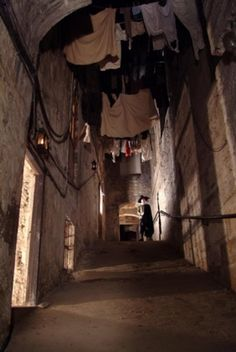 Edinburgh, Scotland Mary King's Close -haunted Medieval Edinburgh is buried under the modern city and underground tours can be taken to the original streets.