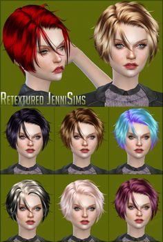 Newsea Foot Print Hair retexture at Jenni Sims via Sims 4 Updates