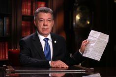 Santos nombró a exministro de Agricultura como jefe negociador de la paz con el ELN - http://www.notiexpresscolor.com/2016/10/24/santos-nombro-a-exministro-de-agricultura-como-jefe-negociador-de-la-paz-con-el-eln/