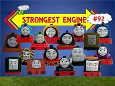 The World's STRONGEST ENGINE Trains #92 - Thomas and Friends for Children