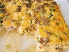 Roots of Simplicity: Sausage, Egg, Spinach, and Rice Casserole (Dairy Free)