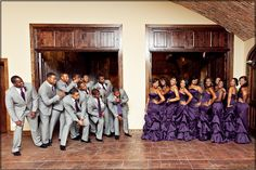 Cute pose for the groomsmen and bridesmaids Shalisha and Bencil – Wedding at the Bell Tower Wedding 2017, Wedding Goals, Purple Wedding, Wedding Attire, Wedding Pictures, Wedding Colors, Wedding Planning, Dream Wedding, Wedding Parties
