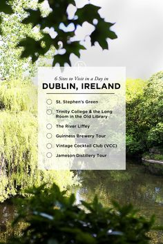 6 Sites to Visit in a Day in Dublin #theeverygirl
