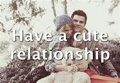 have a cute relationship.♥