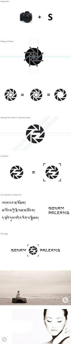 Sonam palzang photography #logo #branding by Ngodup dorjee Lama