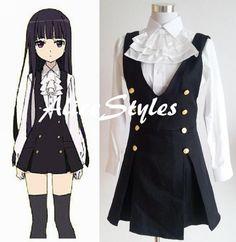 Japanese Anime Cosplay Inu x Boku Secret Service SS by AliceStyles, $54.99