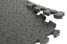 "5/8"" Diamond Soft Tiles - Tread Plate Interlocking Foam Tiles"
