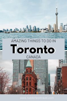 Top things to do in Toronto, Canada! Here is a list of the top things to do in Toronto during a visit in the most exciting city in Canada. Prepare to be amazed by the bustling streets, the huge CN Tower and the lively nightlife. #Canada #Toronto #Travel #NorthAmerica Toronto Nightlife, Toronto Travel, Canada Destinations, Canadian Travel, Visit Canada, Toronto Canada, Ultimate Travel, Travel Goals, Places To Travel