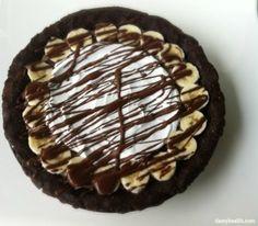 Healthy Chocolate Banana Cream Pie - PositiveMed