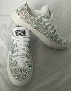 Bling Converse, Wedding Converse, Bling Shoes, Wedding Shoes, Ballerinas, Quinceanera Shoes, Afghani Clothes, Creative Shoes, Decorated Shoes