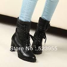 Resultado de imagem para ankle boots salto grosso