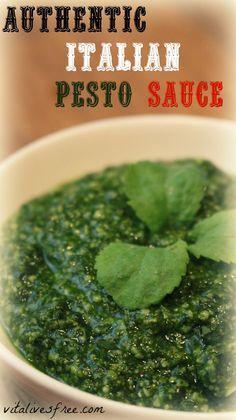 How to make italian pesto sauce at home
