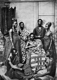 "Africa | ""King Atah of Kyebi."" Gold Coast / Ghana. Prior to September 1902 