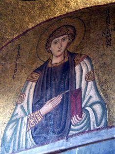 St. Pantaleon mosaic Hosios Lukus