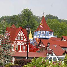 Helen, An Alpine Town in the GA mountains