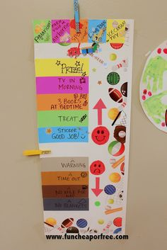 World's best (and most effective!) behavior chart for kids