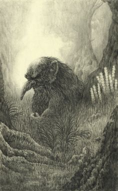 Troll: from Book One of Astromythos - Limited Edition Print