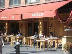 Morandi, Italian Restaurant, NYC  211 Waverly Pl, New York NY 10014