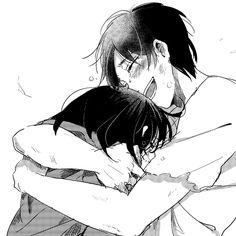 Eren Jaeger x MIkasa Ackerman_Attack on Titan_Shingeki no Kyojin Mikasa X Eren, Levi X Eren, Attack On Titan Ships, Attack On Titan Anime, Noragami, Manga Love, Anime Love, Death Note, Tokyo Ghoul
