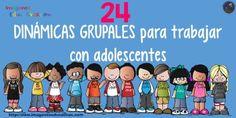 24 DINÁMICAS GRUPALES para trabajar con adolescentes - Imagenes Educativas