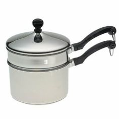 for peanut butter balls :)  Farberware Classic Series 2-Quart Saucepan with Double Boiler Insert and Lid  www.amazon.com  $34.99
