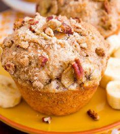 Výborné muffinky s chuťou banánu...