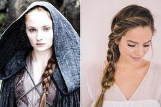 Penteados lindos inspirados nas personagens de Game of Thrones