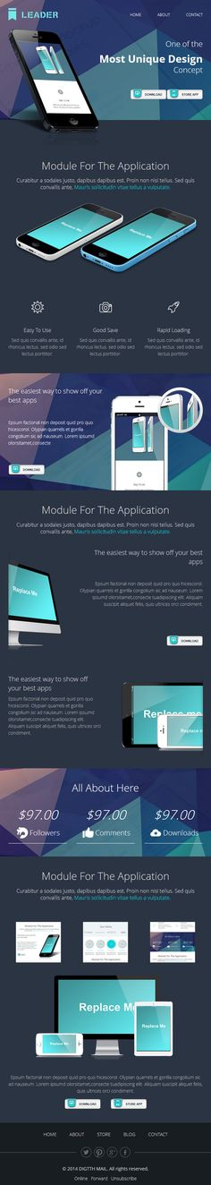 Product Features Email Template