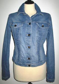 * * * GABRIELE STREHLE Jeansjacke, Gr.40 * * *   eBay Jeans, Mantel, Denim, Ebay, Fashion, Clothing Accessories, Jackets, Moda, Fashion Styles