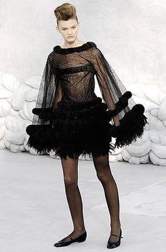 Défilé Chanel Printemps-été 2008 Haute couture | Le Figaro Madame