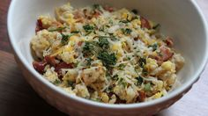 Beggin' Egg and Cheese Fried Rice