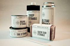 De l'érable en packaging  / étapes: design & culture visuelle