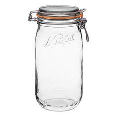 [BIG SALE] Kitchen Organization Sale You'll Love In 2020 | Wayfair Glass Storage Jars, Jar Storage, Glass Jars, Freezer Storage, Pantry Storage, Kitchen Canister Sets, Recipe Organization, Pantry Organization, Organizing