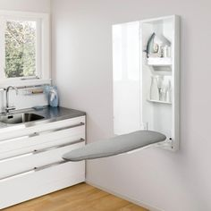 Laundry design guide - Small laundry design ideas - How to organize a laundry room Small Laundry Rooms, Laundry Room Organization, Laundry Storage, Organization Ideas, Laundry Closet, Cabinet Storage, Storage Shelves, Basement Laundry, Laundry Hamper