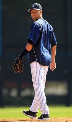 Derek Jeter :) One of the reasons why to LOVE baseball!!
