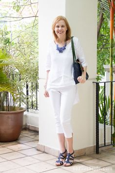 White Out - Choose your favorite from 9 white looks!   40plusstyle.com