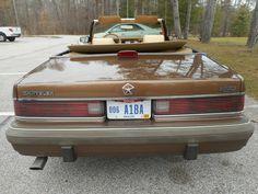 '86 Chrysler Town & Country Mark Cross Convertible