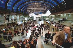 Visitors from all over the world want to see new #retail trends at #EuroShop 2014.