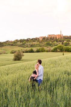 Love story in Tuscany