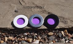violet neon handmade brooches pin badge dont loose Your guests :) colourful by nattaranti on Etsy