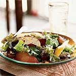 Autumn Apple, Pear, and Cheddar Salad with Pecans Recipe | MyRecipes.com