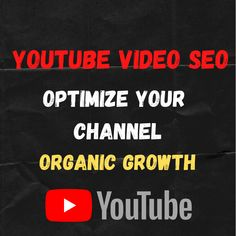 Seo Specialist, Looking For Someone, You Youtube, Youtubers, Channel